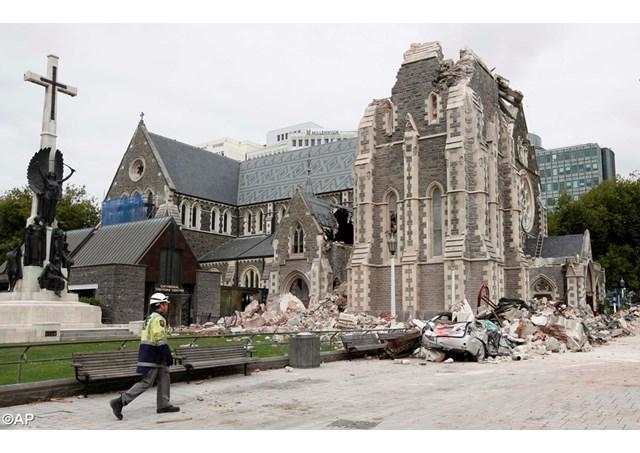 Neuseeland Streit Uber Schicksal Zerstorter Kathedrale