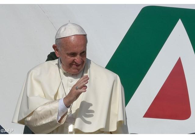 ローマ 教皇 日程